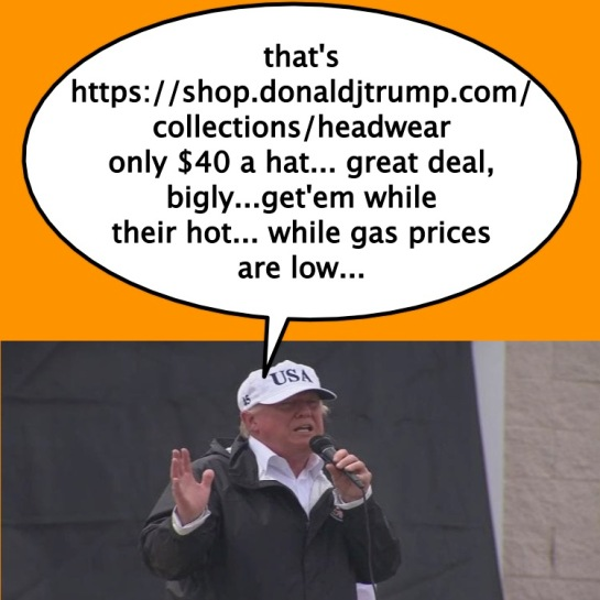 Trumpsellshats